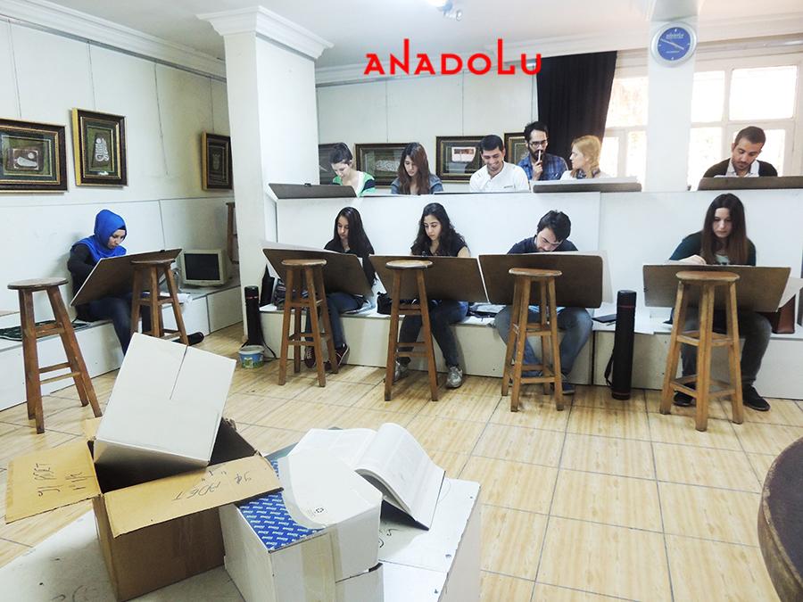 Konyada Anadolu Güzel Sanatlar