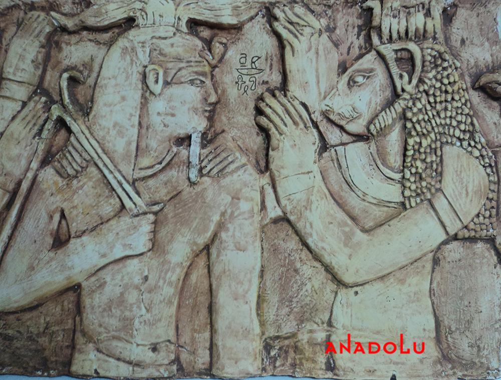 Antik çağ Rölyefleri Yapımı Konyada