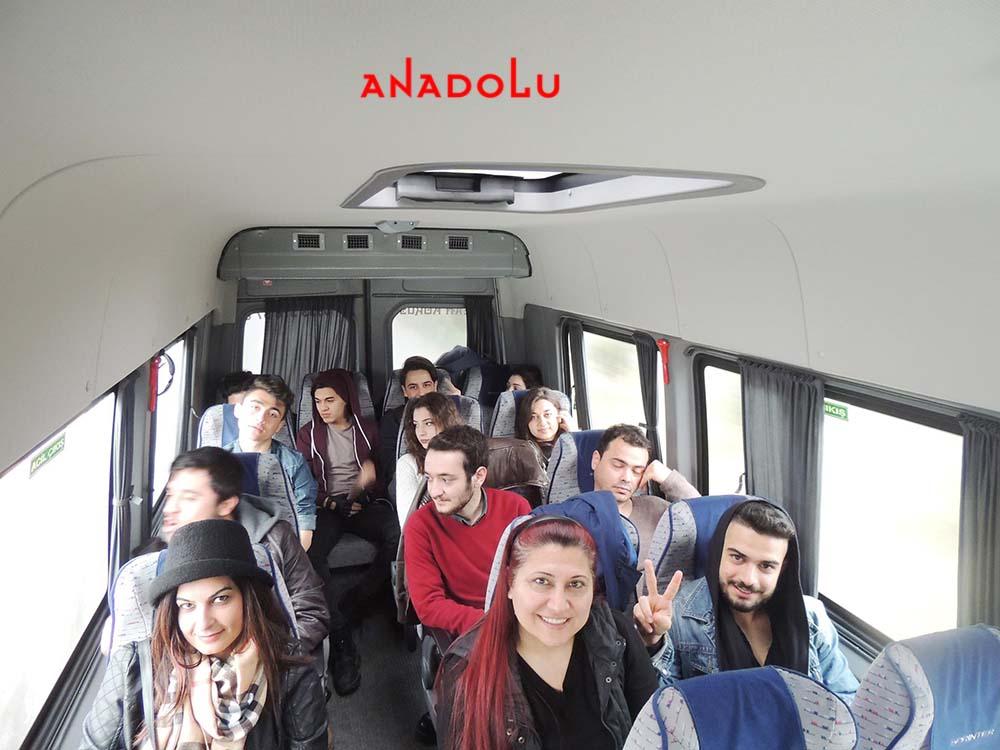 Anadolu Güzel Sanatlar Öğrencileri İle Sınavlara Gitme Konyada