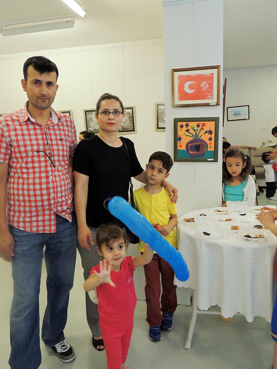 Çocukların Düzenlediği Sanat Sergileri Konyada