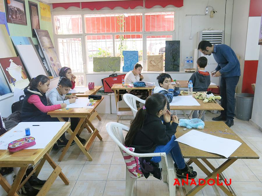 Çocuklar İçin Geliştirilebilir Yetenek Eğitimleri Devam Etmekte Konyada