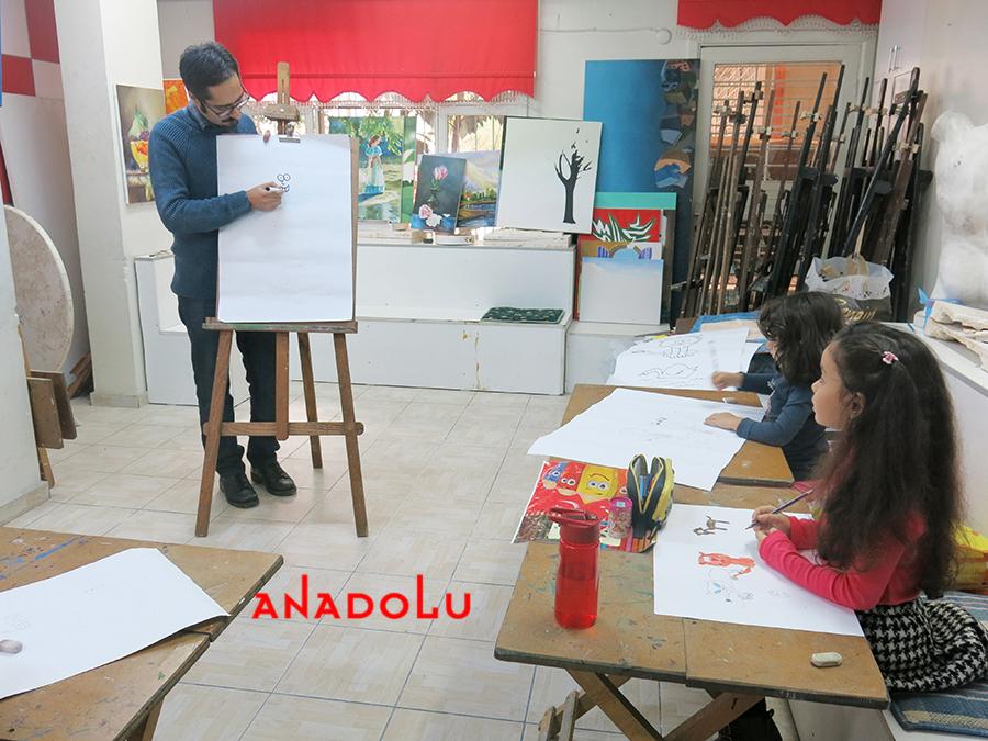 Çocuklar İçin Çizim Eğitimleri Konyada