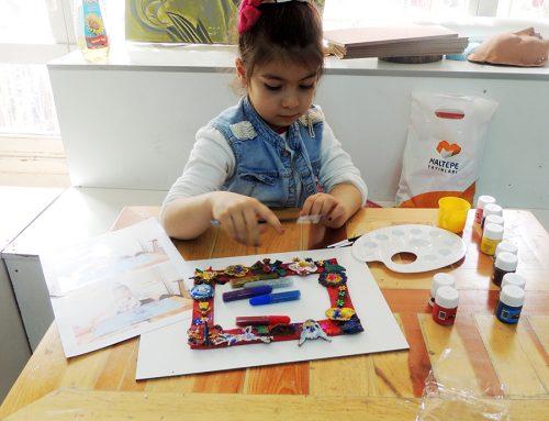 Konyadaki Çocuk Çizimlerinde Ressam İzleri