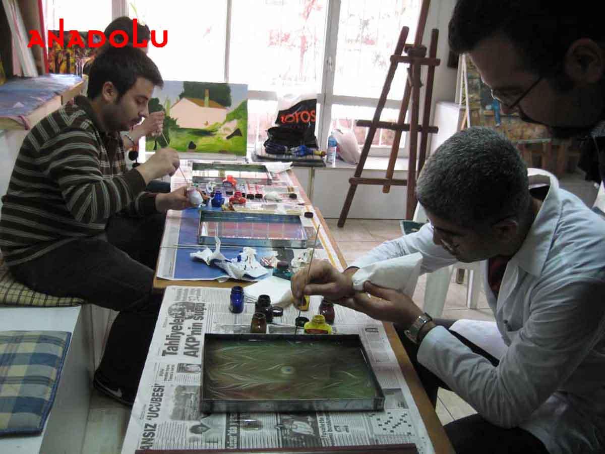 Ebru Kursunda Çalışanlar Konyada