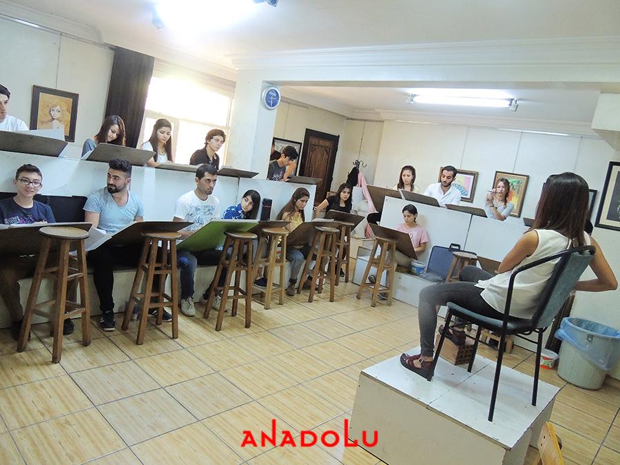 Konyada Güzel Sanatlara Fakülteleri Hazırlık Sınıfları