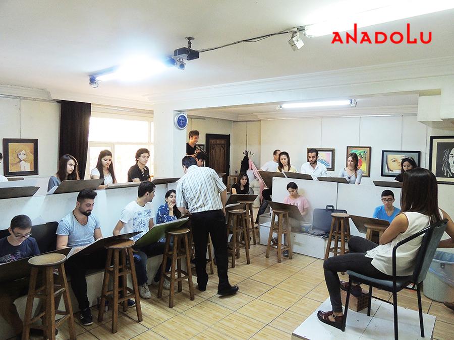 Konya Güzel Sanatlara Fakülteleri Hazırlık Sınıfları