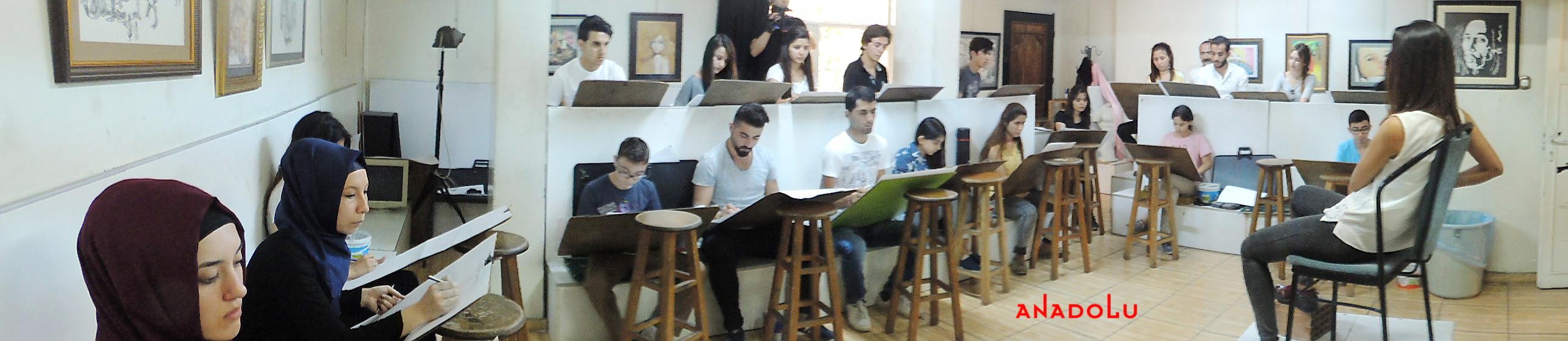 Güzel Sanatlara Fakülteleri Hazırlık Sınıfları Konyada