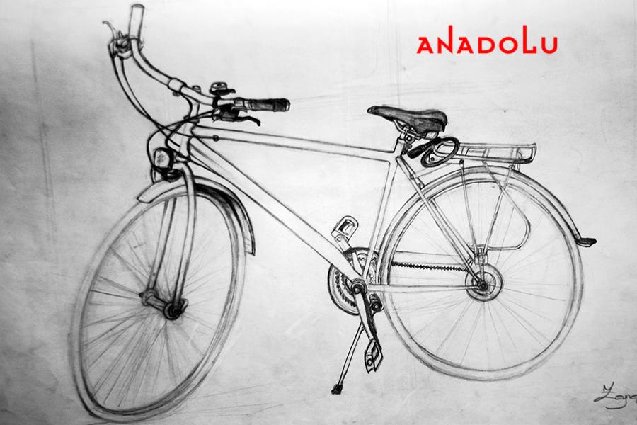 Bisiklet Çizim Örneği Konyada