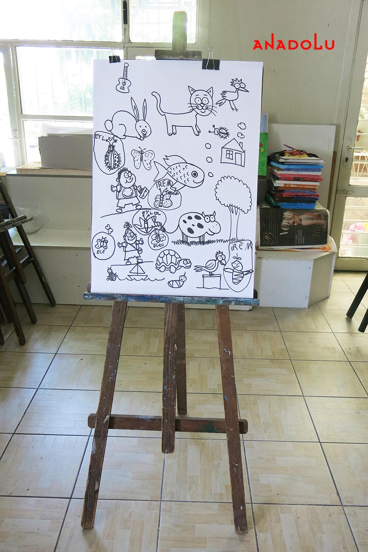 Çocuklar İçin Karikatür Örnekleri Konyada