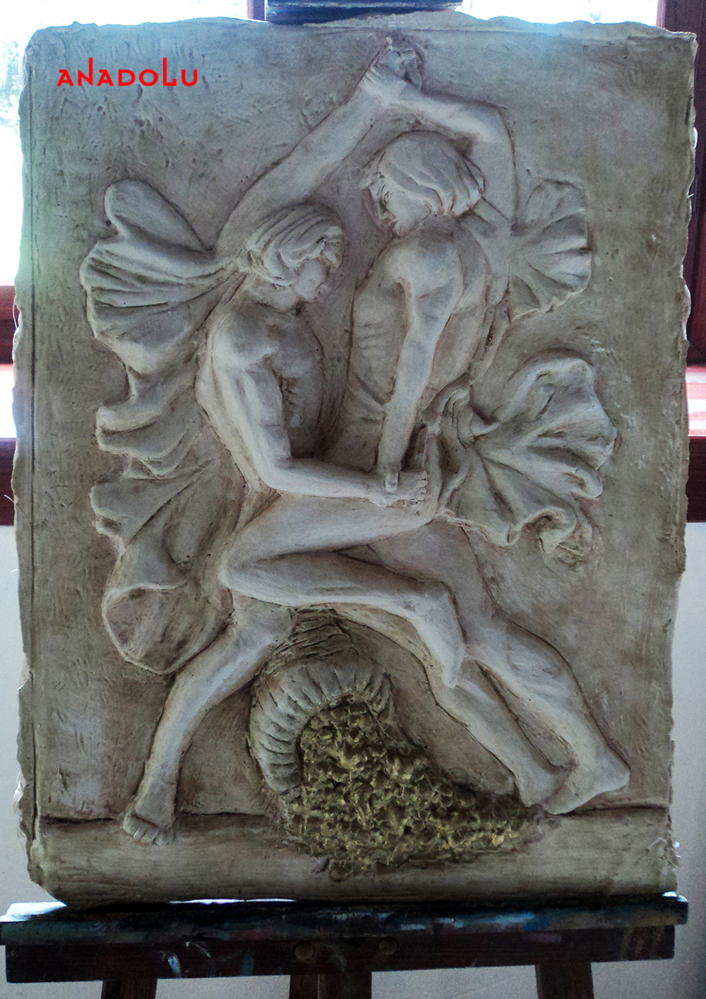 Heykel Rölyef Kabartması Konyada