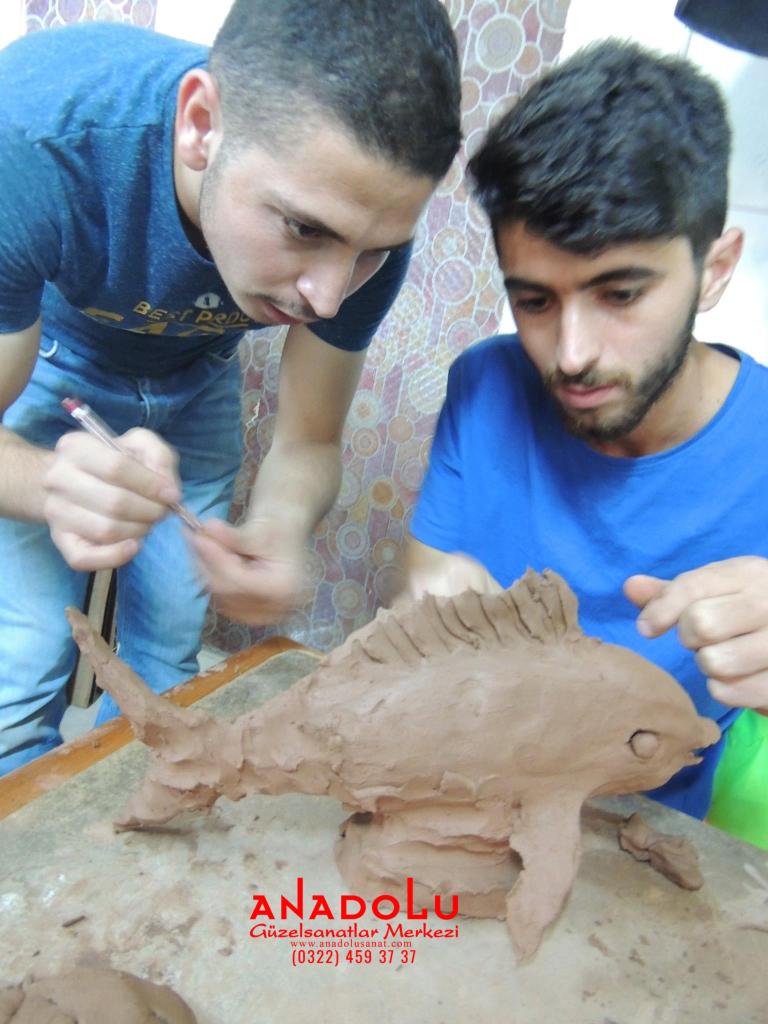 Kilden Balık Modelleme Dersi Konyada