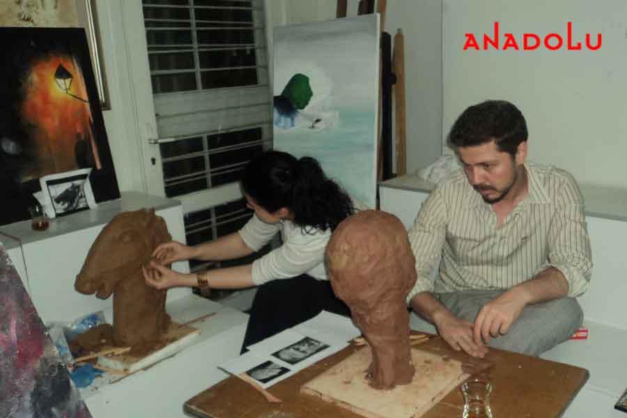 Özel Heykel Eğitimi Konyada