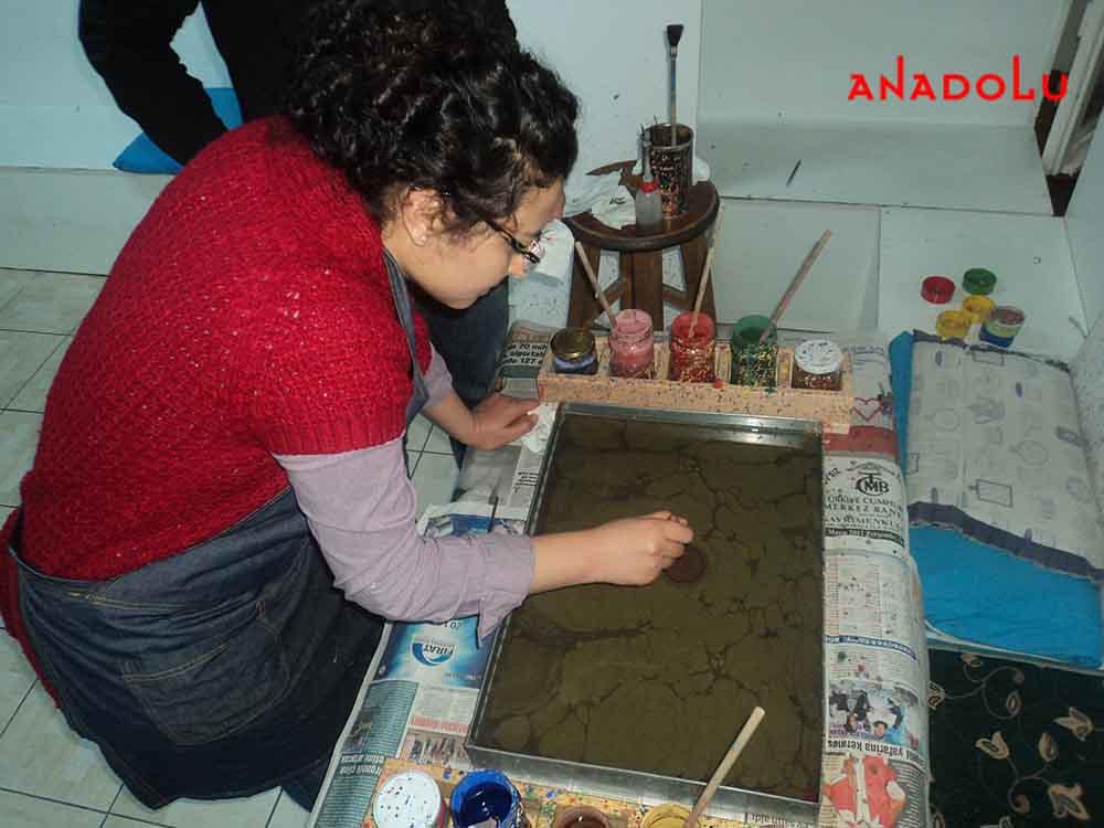 ebru etkinlikleri Konyada