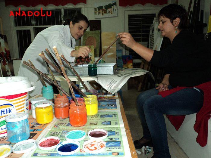 Geleneksel Ebru Kursları Konyada