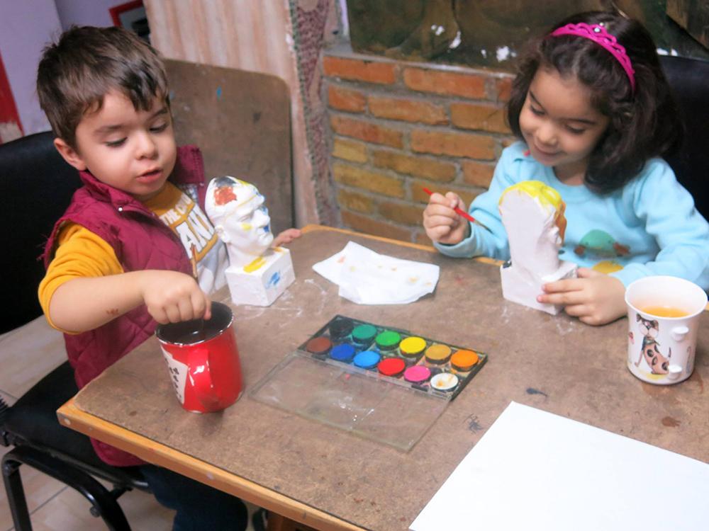 Konya Çocuk Sanat Dersleri