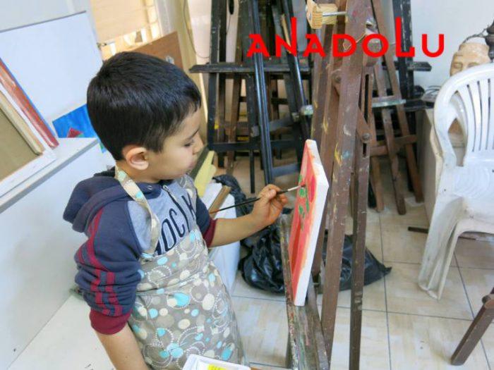 Çocuklara Yönelik Sanat Dersleri Konyada