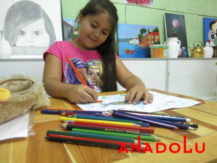Konyada Çocuklar İçin Resim Eğitimleri