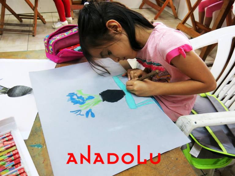 Çocuklar İçin Güzel Sanatlar Kursu Konyada
