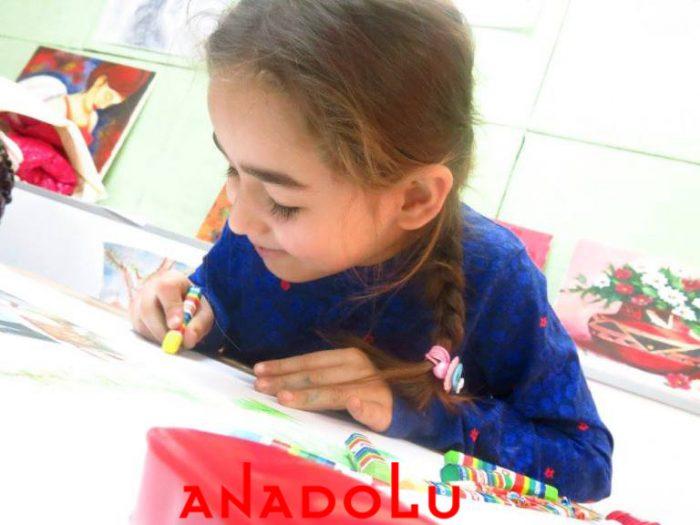 Konyada Çocuklar İçin Güzel Çizim Eğitimleri