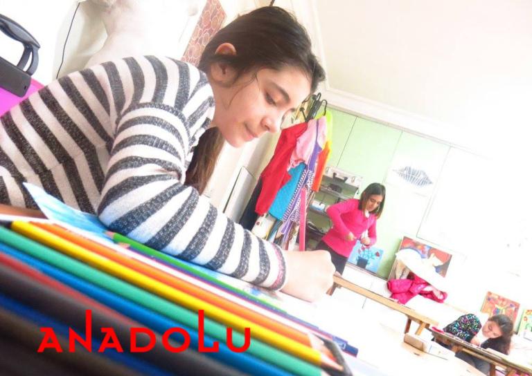 Çocuklar Resim Sanat Eğitimleri Konyada