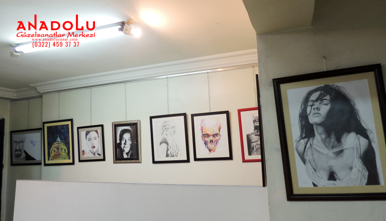 Güzel Sanat Dershanesi Konyada