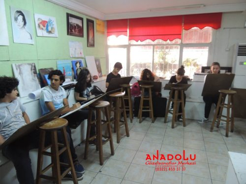 Anadolu Güzel Sanatlar Liselerine Hazırlık Kursları Konyada