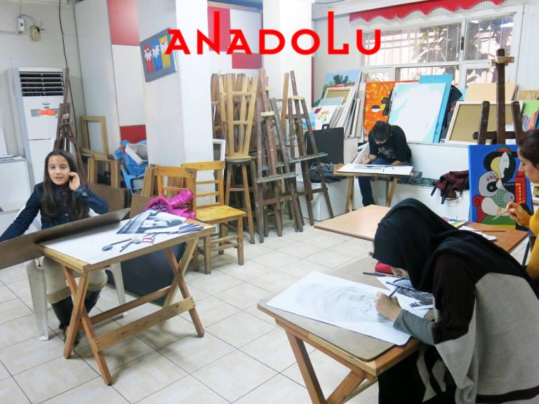 Üniversite Hazırlık Grupları Çizim Dersleri Konyada