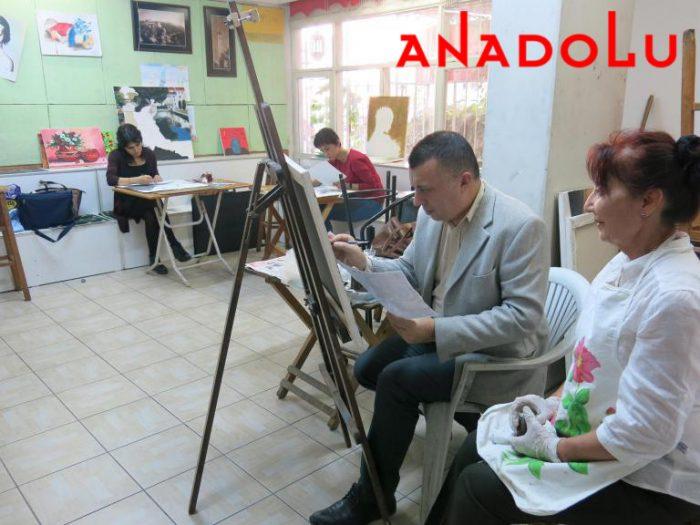 Yağlıboya Çizim Dersleri Hobi Grupları Konyada