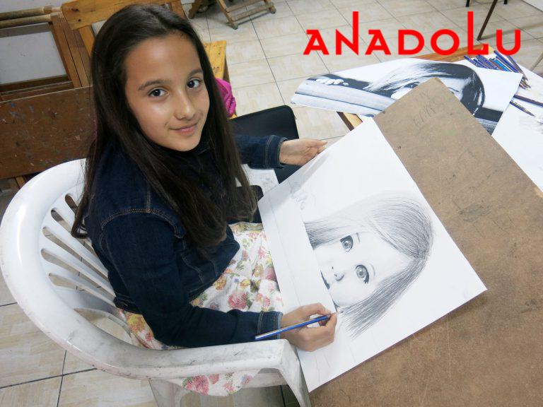 Çocuk Grupları Karakalem Çizim Dersleri Konya