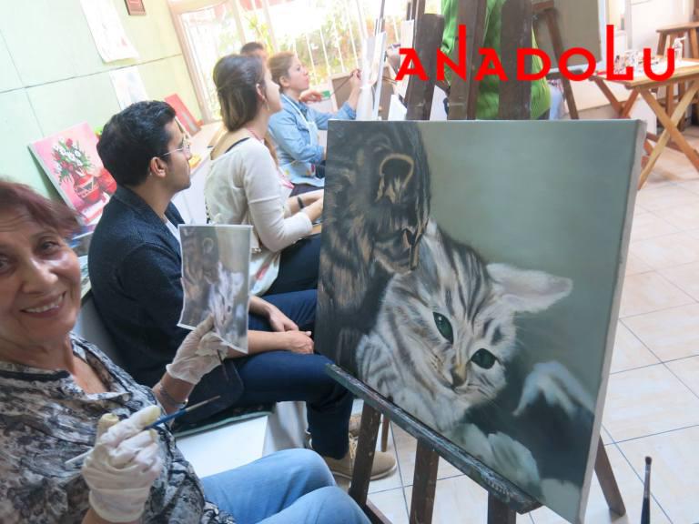 Yağlı boya Hobi Çizim Kursları Konyada