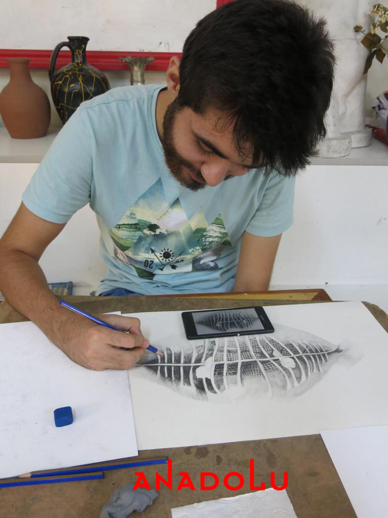 Hobi Grubu Karakalem Çalışmaları Konya