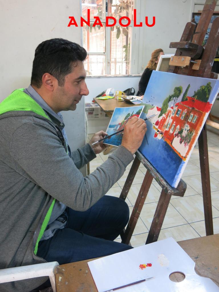 Yağlı boya Dersleri Hobi Grupları Konya