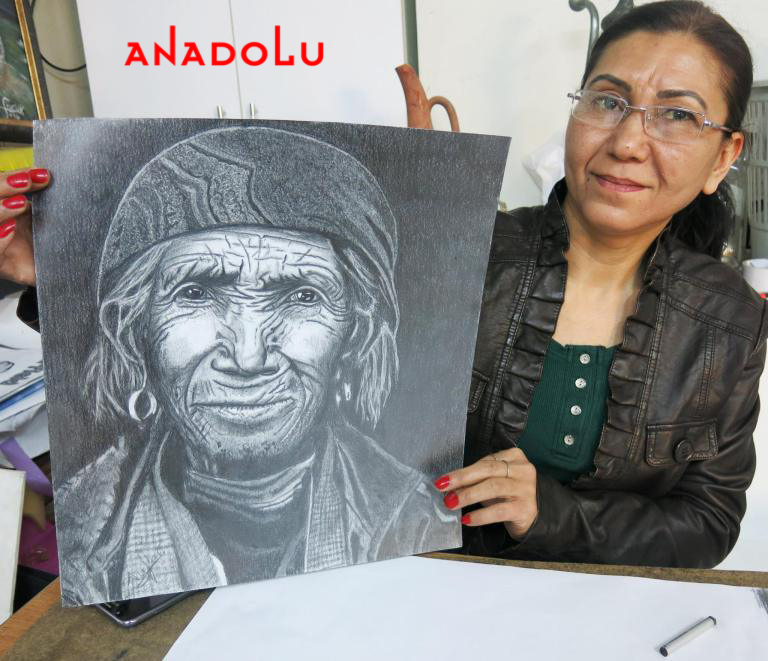 Hobi Karakalem Çizimi Konya