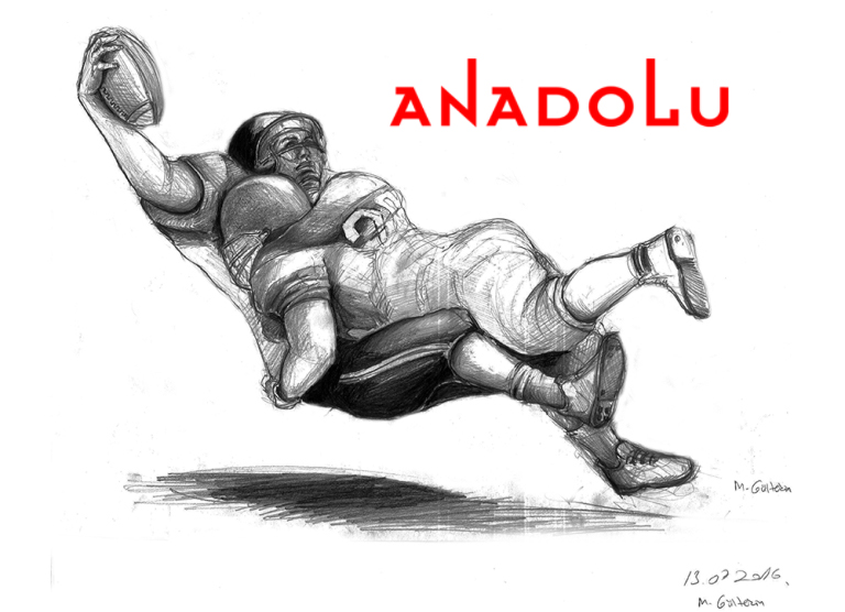 Karakalem Amerikan Futbolu Oynayanlar Konya