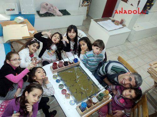 Çocuklar İçin Sanat Eğitimi Konyada